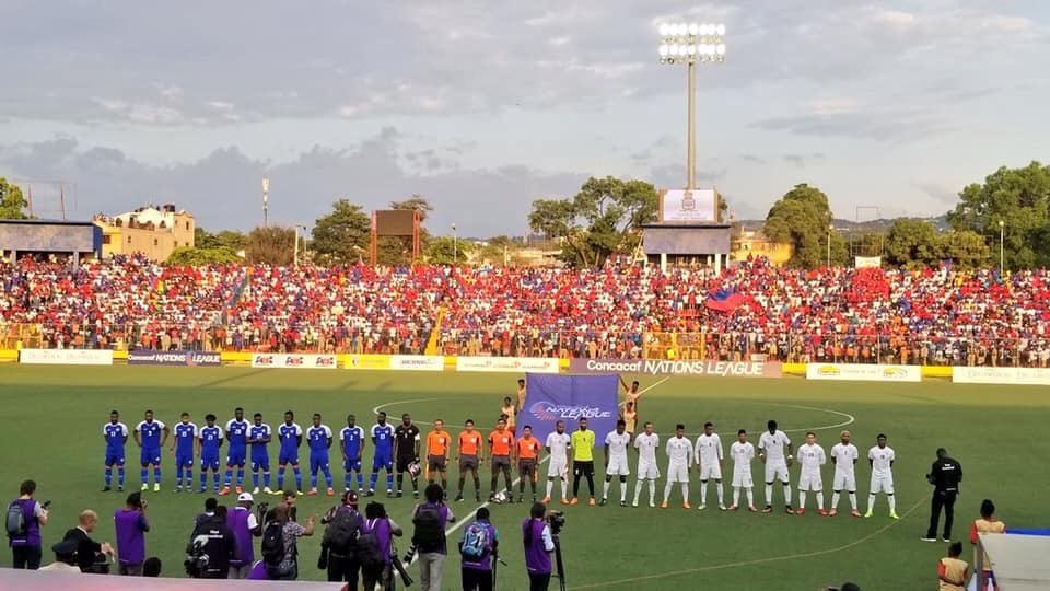 Haiti 2 – Cuba 1 End of the match